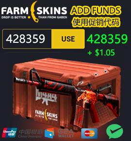 farmskins 国外CSGO饰品皮肤开箱网站 还有比特币以太坊虚拟币开箱.
