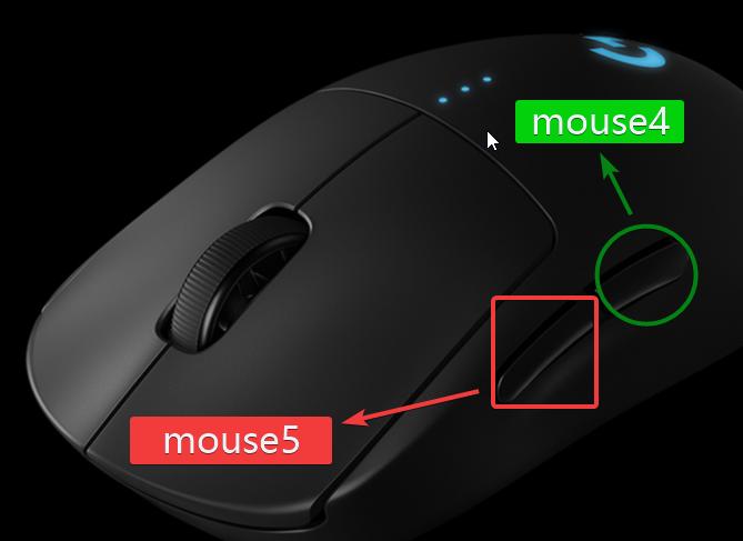 鼠标键位代码名称说明