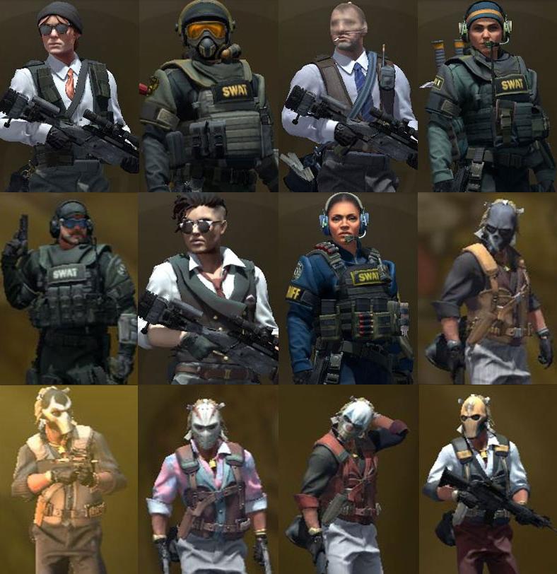 20位探员参战